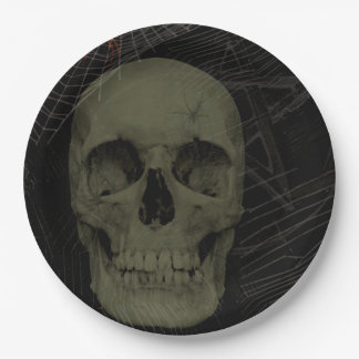 all hollows eve paper plate
