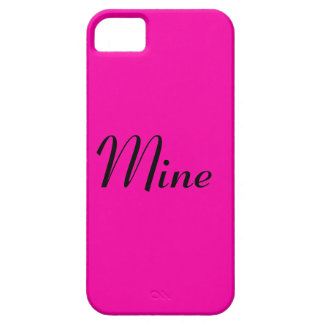 All Hot Pink Nothing But Color Pink iPhone SE/5/5s Case