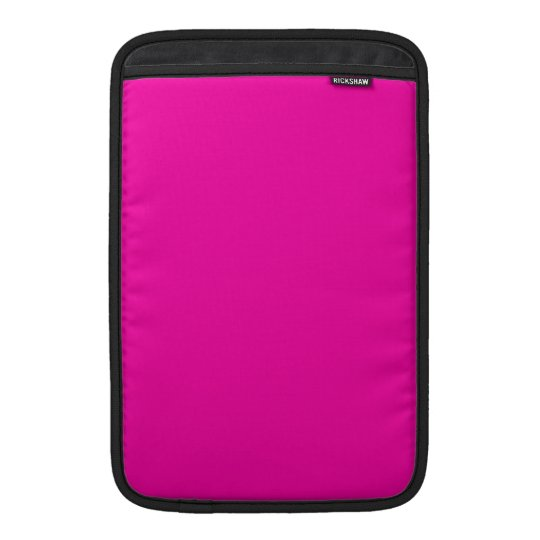 All Hot Pink Nothing But Color Pink MacBook Air Sleeve