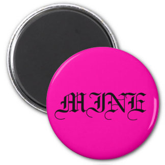 All Hot Pink Nothing But Color Pink Fridge Magnets