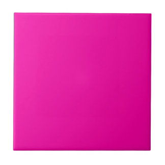 All Hot Pink Nothing But Color Pink Tile