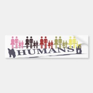 All Human Bumper Sticker