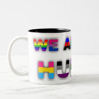 All Human White Mugs