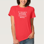 All I Care About Is Autocross Sports T-Shirt