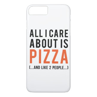 All i care about is pizza (and like 2 people) iPhone 8 plus/7 plus case