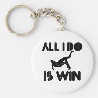All I Do Is Win At Greco-Roman-wrestling Basic Round Button Keychain