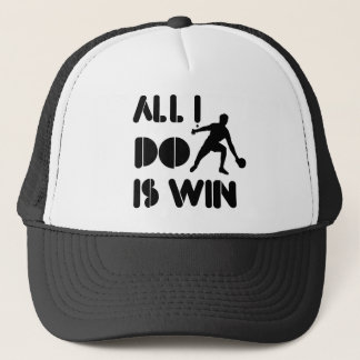 All I Do Is Win At Ping pong Trucker Hat