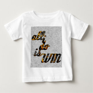 All I Do is Win in Gold Infant T-shirt