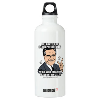 ALL I HAVE TO DO IS LOOK PRESIDENTIAL SIGG TRAVELER 0.6L WATER BOTTLE