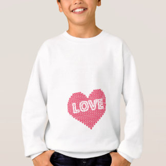 All I Knit Is Love Funny Knitting Gift Sweatshirt