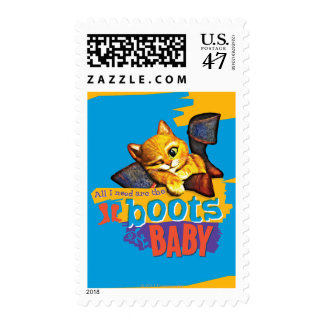 All I Need Are Boots Baby Postage