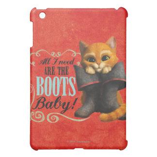 All I Need Are The Boots (color) iPad Mini Cover