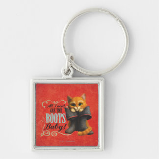 All I Need Are The Boots (color) Keychain