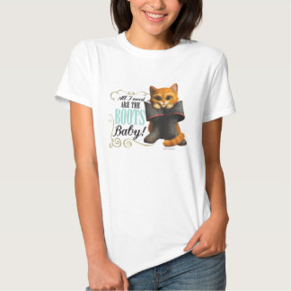 All I Need Are The Boots (color) T-shirt