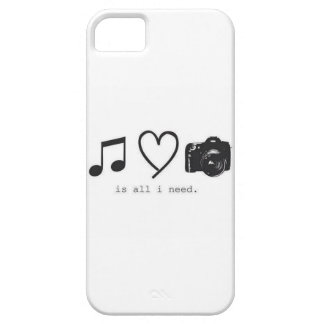 All I Need Case-Mate iPhone 5 Barely There Univers