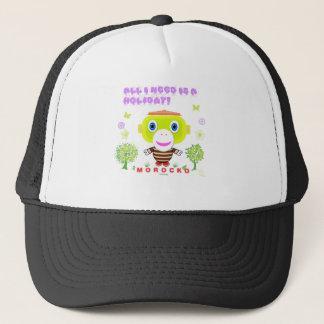 All I Need Is a Holiday-Cute Monkey-Morocko Trucker Hat