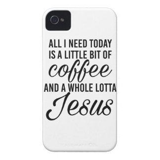 All I need is a little coffee and a whole lotta... iPhone 4 Case