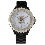All I Need is Coffee Wristwatches