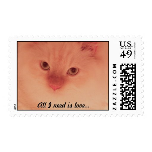 All I need is love... Postage