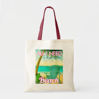 All I Need is to Go to the Beach Tote Bag