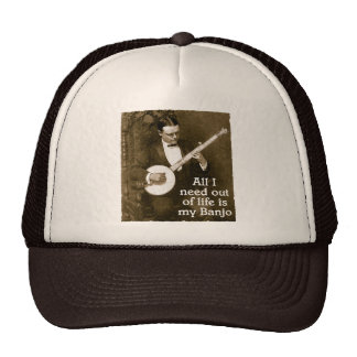 All I Need Truckers Hat