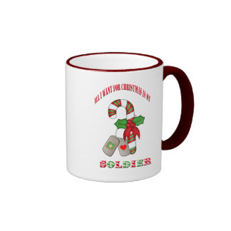 All I Want For Chrismas Is My Soldier Coffee Cup Coffee Mug