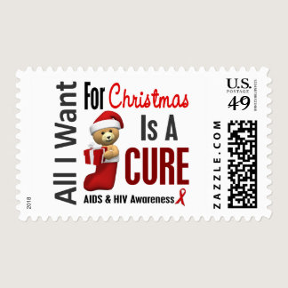 All I Want For Christmas AIDS Postage