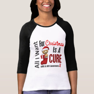 All I Want For Christmas AIDS T-Shirt