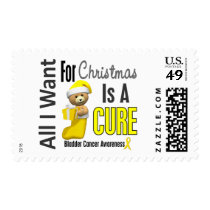 All I Want For Christmas Bladder Cancer Postage