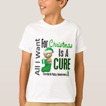 All I Want For Christmas Cerebral Palsy T-Shirt