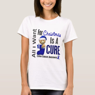 All I Want For Christmas Colon Cancer T-Shirt