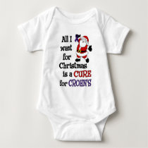 All I Want For Christmas...Crohn's Baby Bodysuit