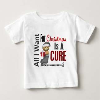All I Want For Christmas Diabetes Baby T-Shirt