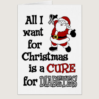 All I Want For Christmas...Diabetes Card