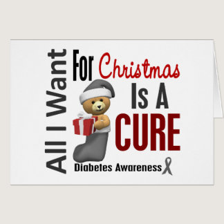 All I Want For Christmas Diabetes Card