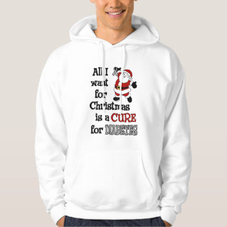 All I Want For Christmas...Diabetes Hoodie