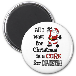 All I Want For Christmas...Diabetes Magnet
