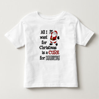 All I Want For Christmas...Diabetes Toddler T-shirt