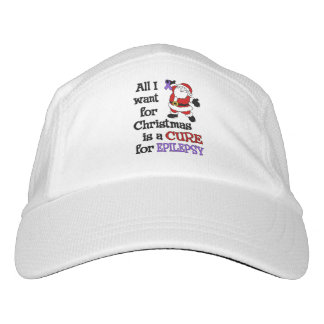 All I Want For Christmas...Epilepsy Headsweats Hat
