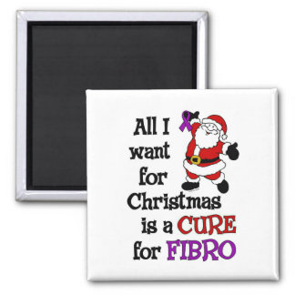 All I Want For Christmas...Fibro Magnet