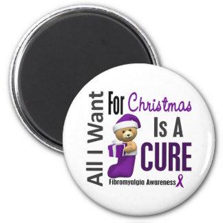All I Want For Christmas Fibromyalgia Magnet