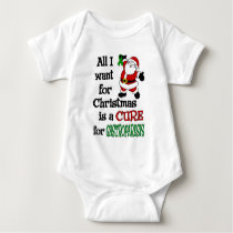 All I Want For Christmas...Gastroparesis Baby Bodysuit