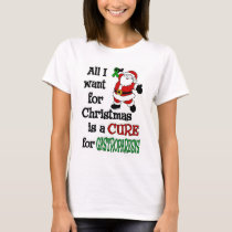 All I Want For Christmas...Gastroparesis T-Shirt