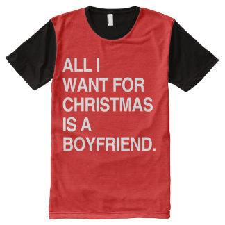 Boyfriend Christmas T Shirts Shirt Designs Zazzle