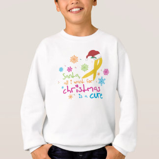 All I want for Christmas is a cure Sweatshirt