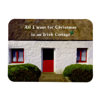 All I want for Christmas is an Irish Cottage Magnet