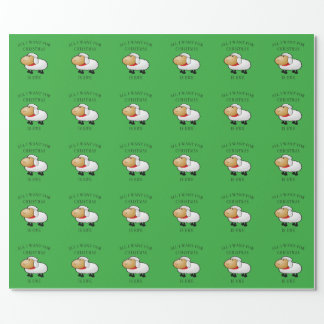 All I Want For Christmas Is Ewe Wrapping Paper