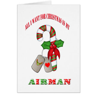 All I Want For Christmas Is My Airman Card