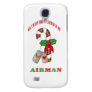 All I Want For Christmas Is My Airman IPhone 3 Cas Samsung S4 Case