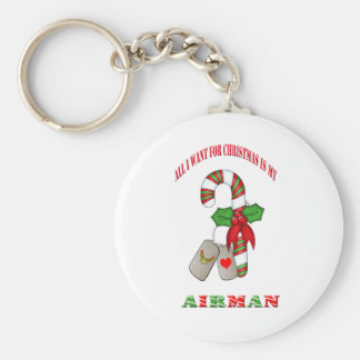 All I Want For Christmas Is My Airman Keychain